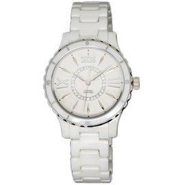 紐約 JO96751-80F 都會自信陶瓷晶鑽腕錶 白 36mm Naturally JO