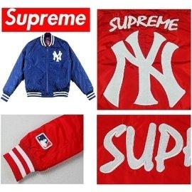 風衣外套 supreme x NY 防寒外套 夾棉短大衣 冬款加厚版 保暖護溫  男裝