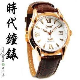 ~Ogival~愛其華 典雅玫瑰金機械錶 台南特約旗艦館 1950AG~1218