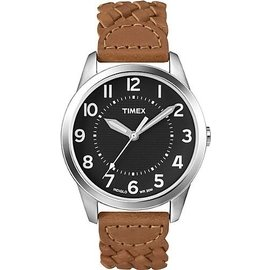 Timex Men s T2N755 Weekender Casual Brown Wov
