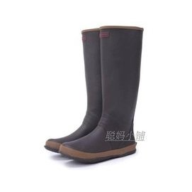 外貿 男女式長筒春秋夏款柔軟輕便可折疊平底防滑雨鞋 水鞋 雨靴