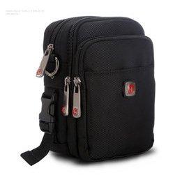 瑞士軍刀 正品 單肩包 多 腰包帆布包 男包 兩用包牛津布小包