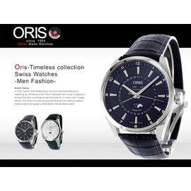 ~腕時計本舖~ORIS 瑞士 機械表 Artelier 42mm 月相盈虧 SV 9157