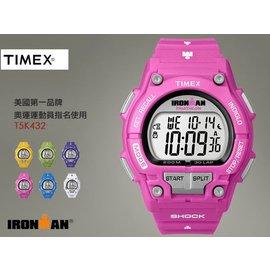 【小偉日系】TIMEX 美國第一品牌 IRONMAN 鐵人路跑錶 41mm/男女兼用/30圈/PK/慢跑/游泳T5K43