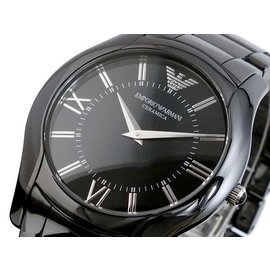 EMPORIO ARMANI 亞曼尼 CERAMICA系列 精密陶瓷 手錶 男錶 對錶 生