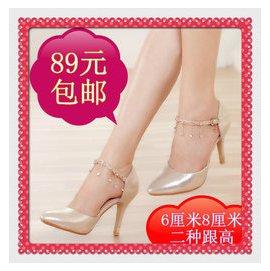 2016春 麗人達芙妮正品尖頭細跟高跟鞋淺口鏤空涼鞋性感女單鞋