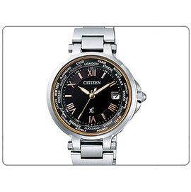 CITIZEN 星辰 XC 电波时计时尚鍊带腕表-黑色 # EC1010-57X