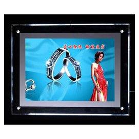 水晶超簿LED發光相框 亞克力菜單 奶茶店點餐牌 有機玻璃廣告畫框