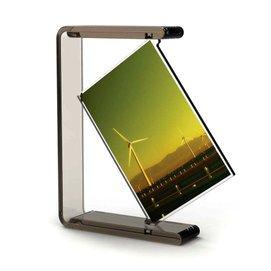天天 6寸亞克力旋轉相架畫框 溫馨雙面豎相框 包郵