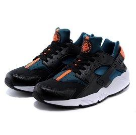 Nike Air Huarache~男生 版慢跑鞋 訓練鞋 黑色壓紋 新品
