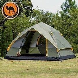 戶外 !3~4人多人自動帳篷 戶外防暴雨雙人快開帳篷  多人帳篷天幕 戶外野營