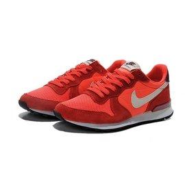 Nike Internationalist 復古慢跑鞋  紅白 麂皮 網布 透氣 鞋 阿甘