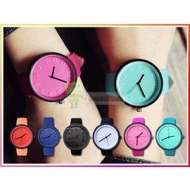 送手錶盒 女錶情侶對錶 彩色果凍女士手錶 手環 腕錶 機械錶 非電子錶 學生 手表 表 手