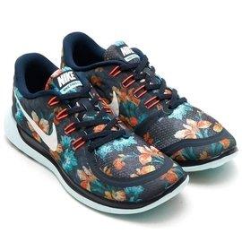 NIKE FREE 5.0 PHOTOSYNTH 724516~401 男段 花卉輕量跑鞋
