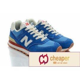 New Balance ML574CBL ML574 574 NB 寶藍色小精靈 藍白 休