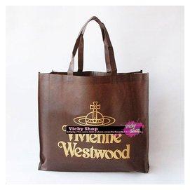 top 小鋪專櫃正品 vivienne westwood 薇薇安土星 大型 包 紙袋 袋
