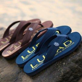 路拉迪2016 男士人字拖耐磨 ?拖鞋夾?防滑沙灘鞋潮流