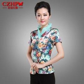 民族風棉麻唐裝女裝中式旗袍上衣改良復古漢服中國風205 春裝