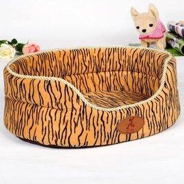 貓窩貓床貓墊子 虎皮窩!可拆洗寵物窩 貓窩狗窩寵物床 寵物用品