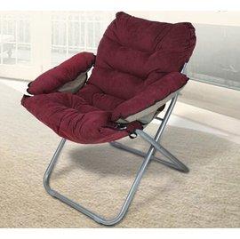 躺椅單人懶人椅子折疊沙發椅辦公椅休閒靠背椅宿舍椅