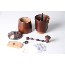 手搖磨豆機臺灣 正品咖啡研磨機 磨豆器送壹個毛刷