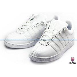 K~SWISS 新竹皇家 CLASSIC VN 白色 皮質 輕量 休閒鞋 男款 NO.A6