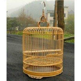 超大號雕花八哥籠 鷯哥籠 畫眉籠 八哥鳥籠竹籠子 籠子