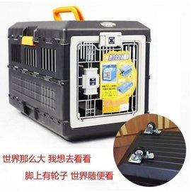 IRIS愛麗絲 愛麗思航空箱可折疊寵物籠 貓狗托運箱FC550FC670.