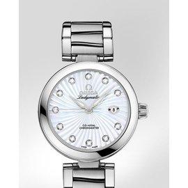 歐米茄OMEGA 蝶飛LADYMATIC系列鑲鑽機械女錶425.30.34.20.55.0