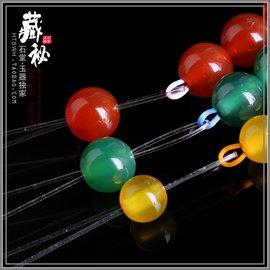 石堂玉器 萬用Diy穿珠引線 108佛珠手鏈項鏈穿珠星月金剛菩提引線