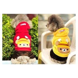 ~曼尼寵物 屋~^~2012年 款^~好可愛蜜蜂熊王子 寵物衣服狗狗衣服寵物四腳褲服