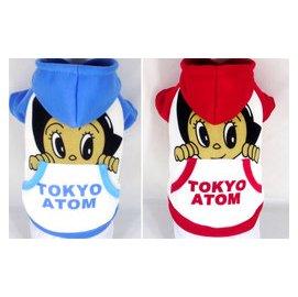 ~Doggyㄉ小舖~^~2010年 ^~東京原子小金鋼阿童木寵物連帽休閒服^~狗狗衣服^~