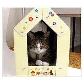 貓貓的最愛可愛紙貓屋 貓抓板