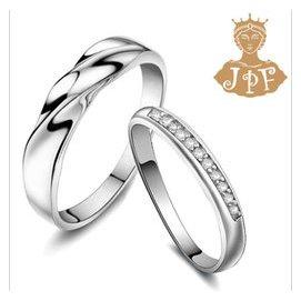 一對只要2688!地中海風情 情侶戒指 925銀對戒 磨砂戒指男 女戒生日