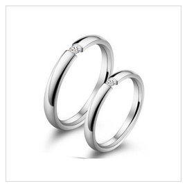 一對只要2688!瑞士精鋼對戒 情侶戒指 情侶對戒 戒指 戒生日