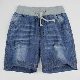 男童牛仔短褲兒童五分褲純棉中大童男孩學生休閒熱褲薄款夏裝