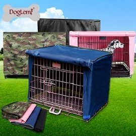 防風防雨防塵寵物籠罩 鐵籠子貓籠狗籠子罩子蓋布 不 狗籠46~30~37cm