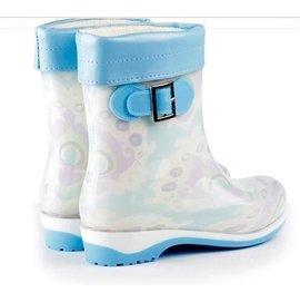 雨鞋女中筒加絨保暖雨靴女韓國 防水鞋高筒糖果色防滑膠鞋套鞋