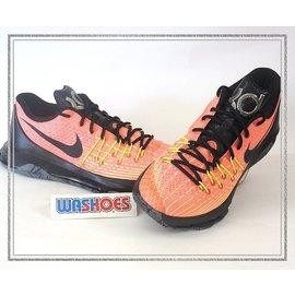 8折 Nike KD 8 EP 橘 紅 黑 劍齒虎 籃球鞋 800259~807 US 8