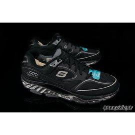 送束褲SKECHERS回彈力慢跑鞋 訓練 第五代 全黑銀 ^# 99999761BBK