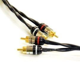 志達電子 CAB084 1.5 立體RCA 轉 RCA 轉接線 1.5m 鐵三角 高純度O