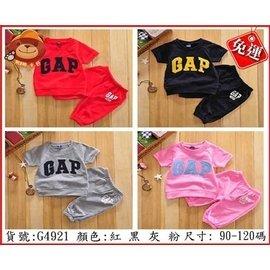 2014  男女童兒童寶寶 GAP純棉短套裝 G4921