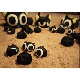 小黑貓咪羅小黑戰記毛絨公仔玩偶玩具13只全套 收藏 生日 兒童節 情人節