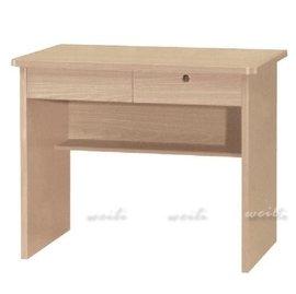 5L~新北蘆洲^~偉利傢俱~白像二抽書桌~編號(L228~4)~雙北市免 ~