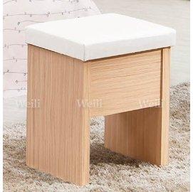 5W~新北蘆洲^~偉利傢俱~ 蘇菲亞化妝椅^(皮面^)~編號(W394~4 ^) ~雙北市