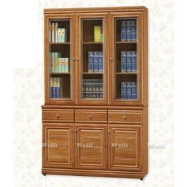 5W~新北蘆洲^~偉利傢俱~軒轅樟木色4尺書櫃^(全組^)~編號(W831~2)~W系列