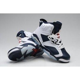 Nike Air Jordan 6 VI 白 藍 海軍藍 喬丹 Olympic 倫敦 奧運