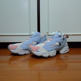 REEBOK INSTA PUMP FURY OG 20TH週年 仁川亞運 藍粉 充氣鞋