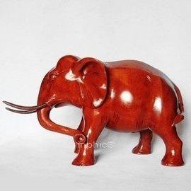 賈伯商城~紅木大象 木雕木象擺飾紅木工藝品 風水吸財寶象