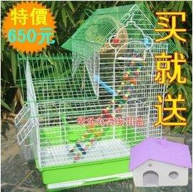 鳥籠子牡丹籠虎皮鸚鵡籠文鳥金屬籠珍珠鳥籠八哥大號鳥籠 廠商直銷
